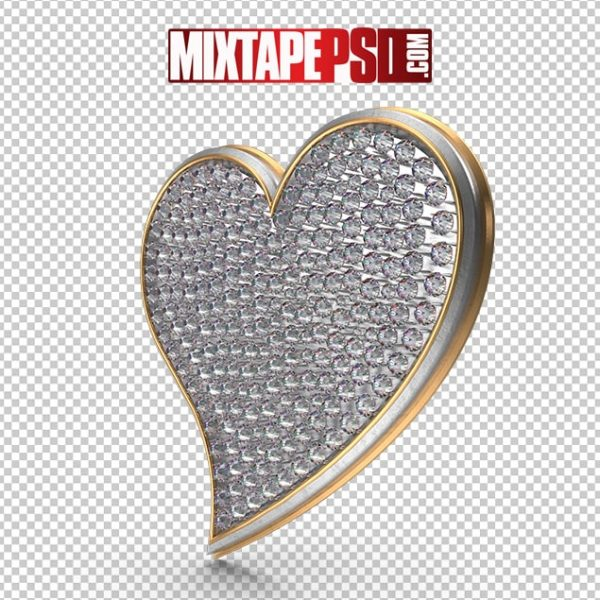 HD Bling Heart Symbol