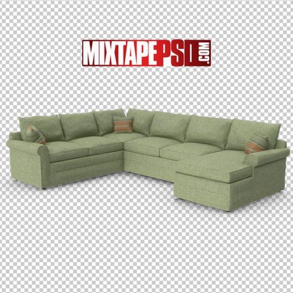 HD Classical Sectional Sofa