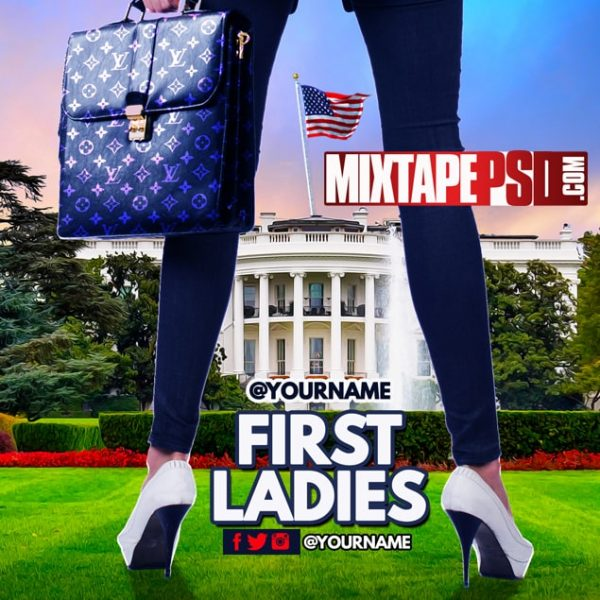 Mixtape Template First Ladies 2