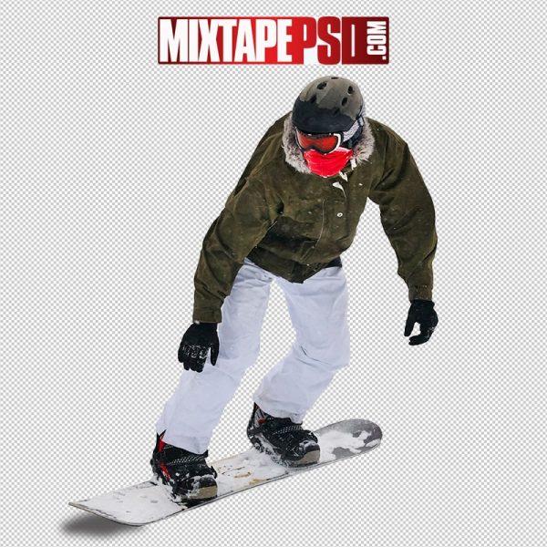 HD Person Snowboarding