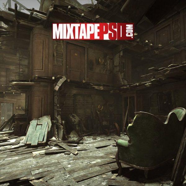 Wolfenstein Hotel Destruction Background 2