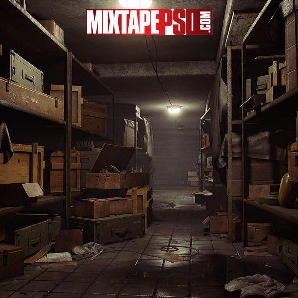 Abandoned Warehouse Background