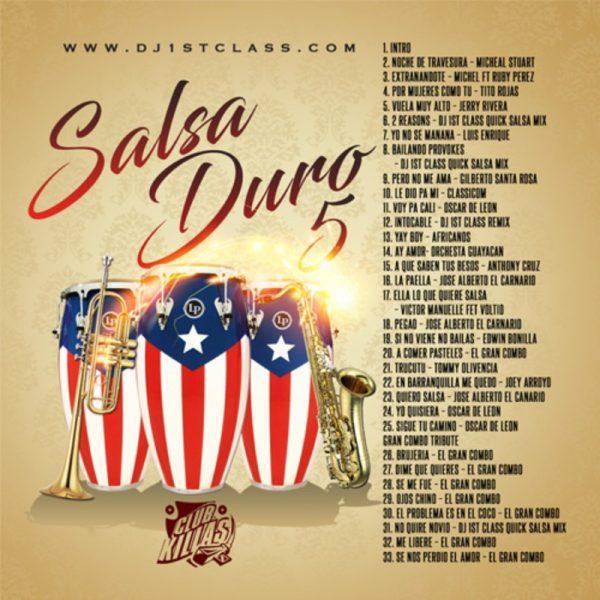 DJ 1st Class - Salsa Duro 5