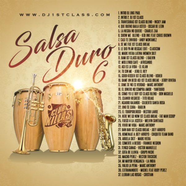 DJ 1st Class - Salsa Duro 6