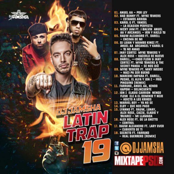 DJ Jamsha - LATIN TRAP 19