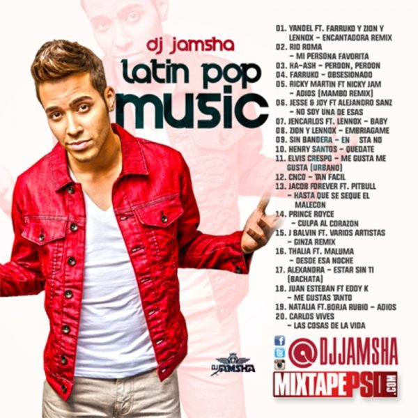 DJ Jamsha - Latin Pop Music
