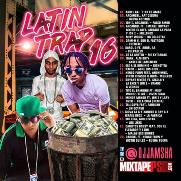 DJ Jamsha Latin Trap 16