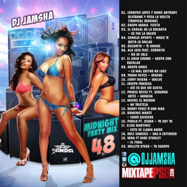 DJ Jamsha - Midnight Party Mix 48