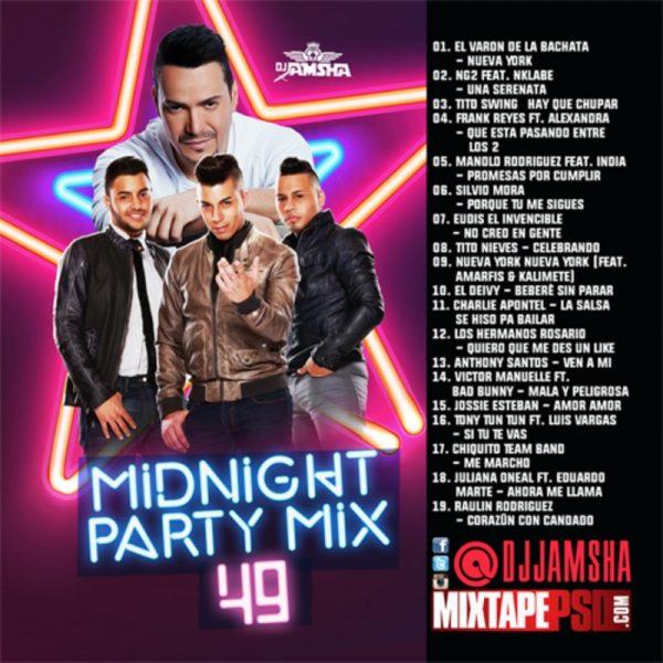 DJ Jamsha - Midnight Party Mix 49