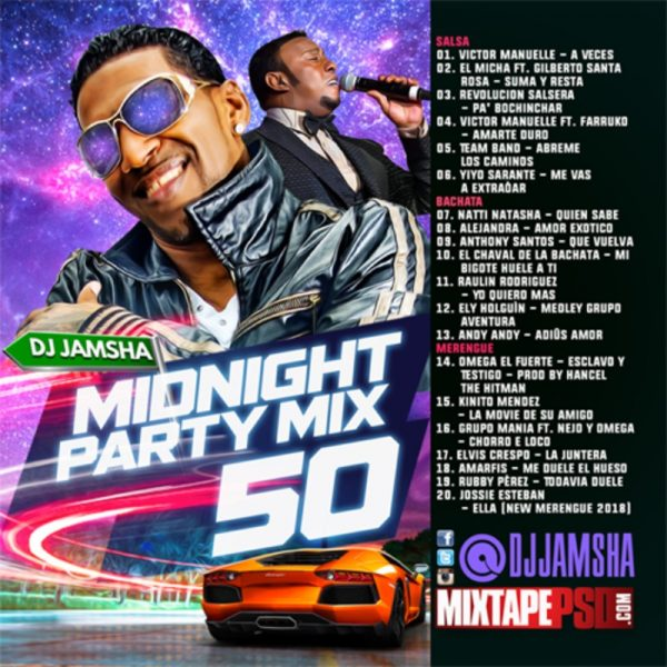 DJ Jamsha - Midnight Party Mix 50