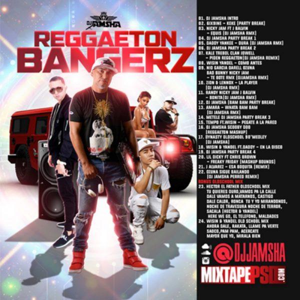 Dj Jamsha - Reggaeton Bangerz