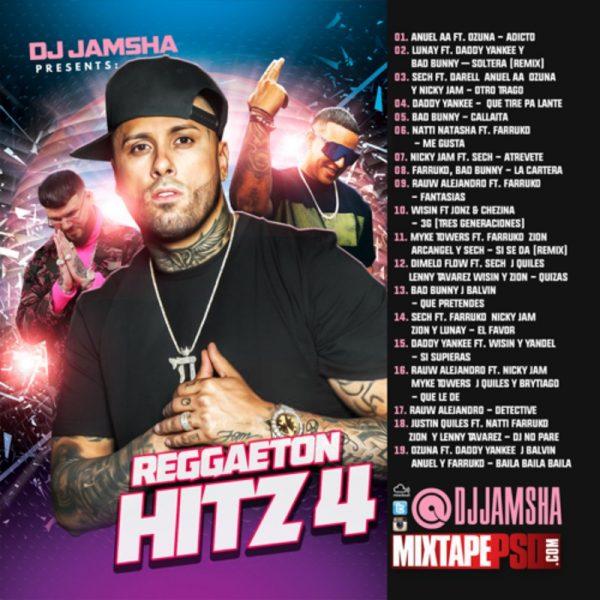 DJ Jamsha - Reggaeton Hitz 4