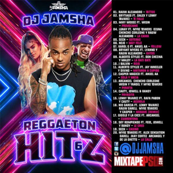 DJ Jamsha - Reggaeton Hitz 6