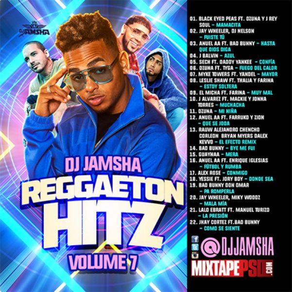 DJ Jamsha - Reggaeton Hitz 7
