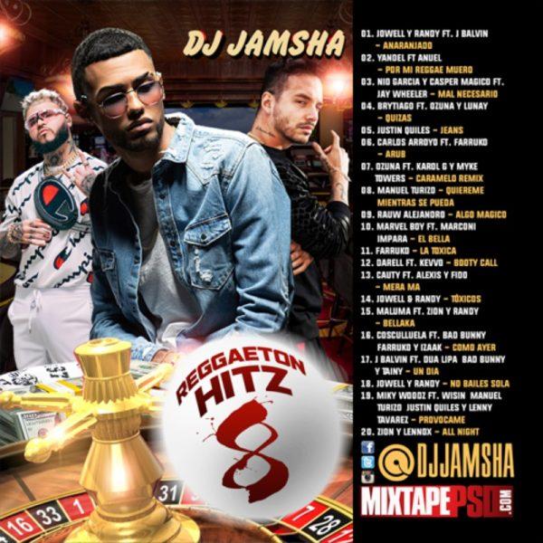 DJ Jamsha - Reggaeton Hitz 8