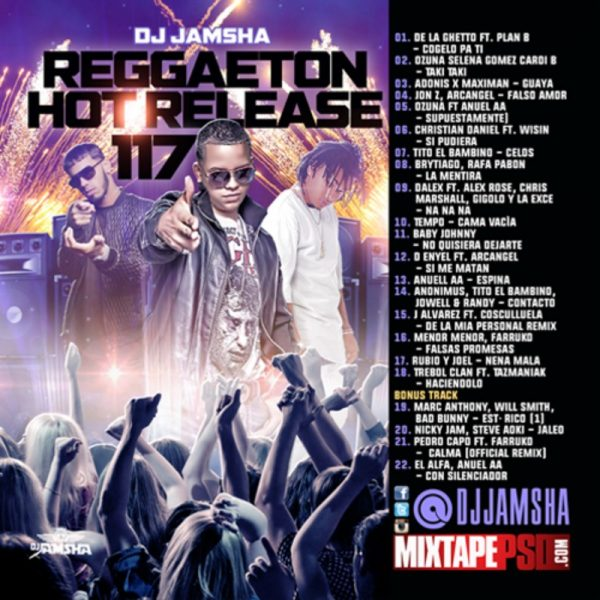 DJ Jamsha - Reggaeton Hot Release 117