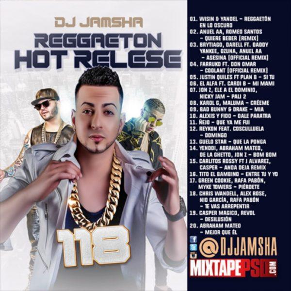 DJ Jamsha - Reggaeton Hot Release 118