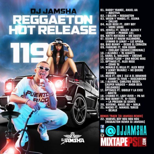 DJ Jamsha - Reggaeton Hot Release vol 119
