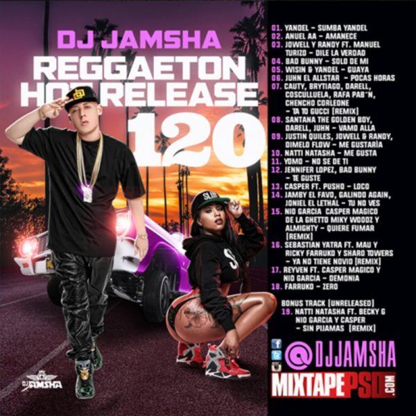 DJ Jamsha - Reggaeton Hot Release 120