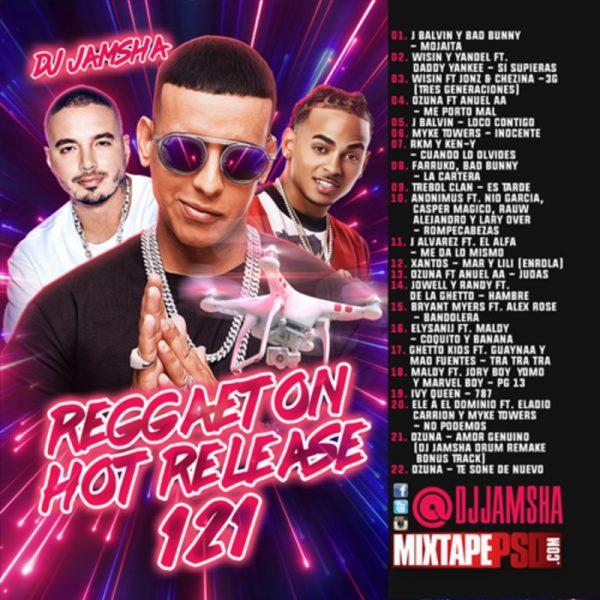 DJ Jamsha - Reggaeton Hot Release 121