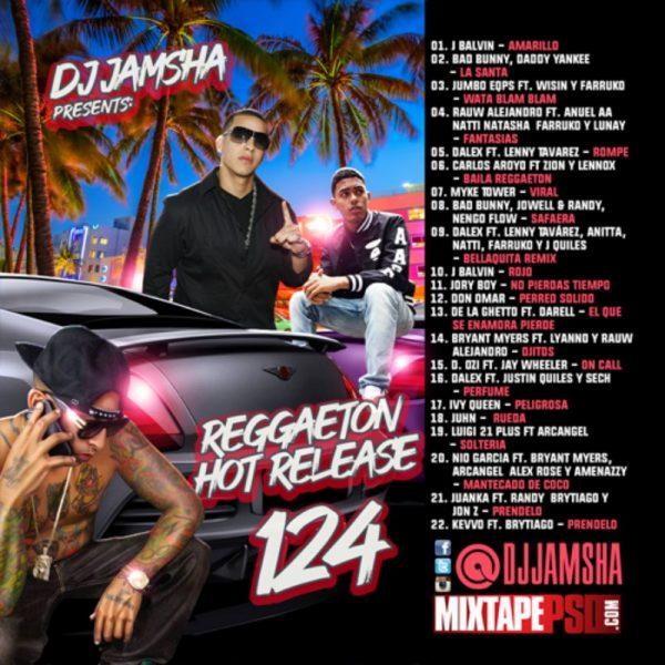 DJ Jamsha - Reggaeton Hot Release 124
