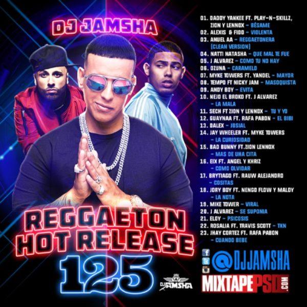 DJ Jamsha - Reggaeton Hot Release 125