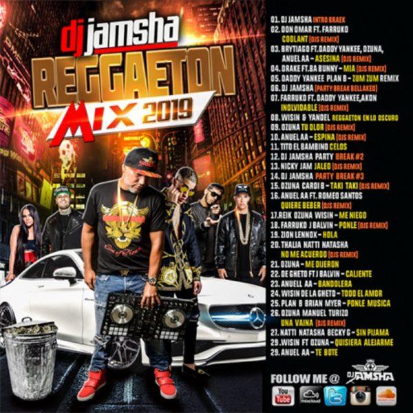 DJ Jamsha Reggaeton Mix 2019