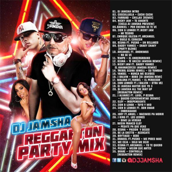 DJ Jamsha Reggaeton Party Mix