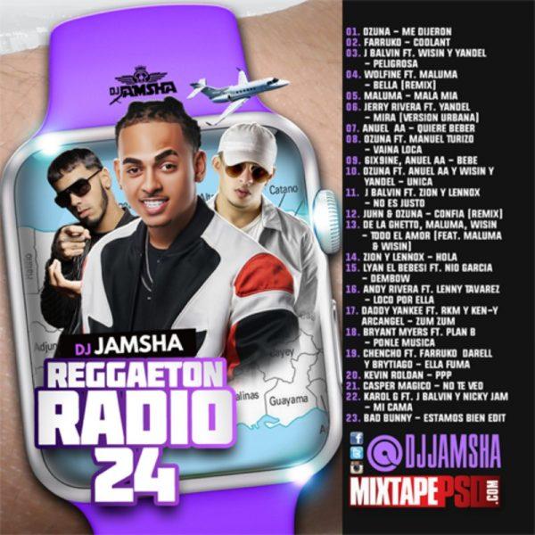 DJ Jamsha - Reggaeton Radio 24 Download
