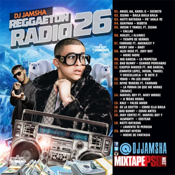 DJ Jamsha Reggaeton Radio 26