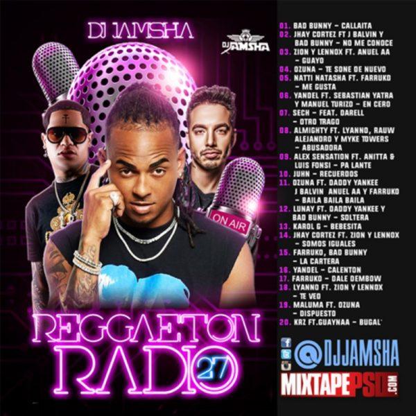 DJ Jamsha - Reggaeton Radio 27