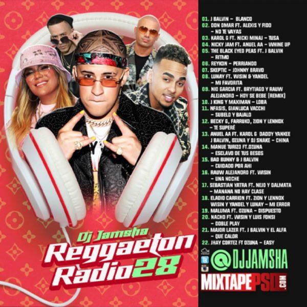 DJ Jamsha - Reggaeton Radio 28