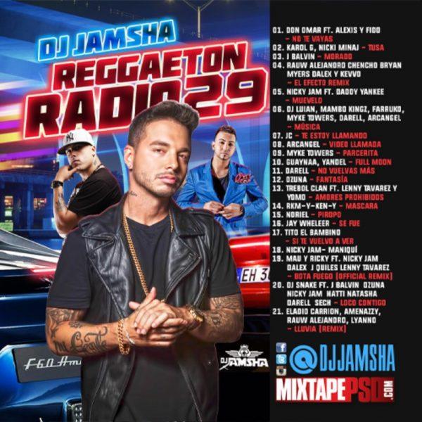 DJ Jamsha - Reggaeton Radio 29