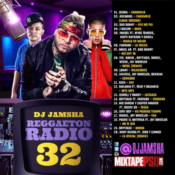 DJ Jamsha - Reggaeton Radio 32