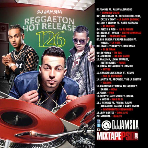 DJ Jamsha - Reggaeton Hot Release 126