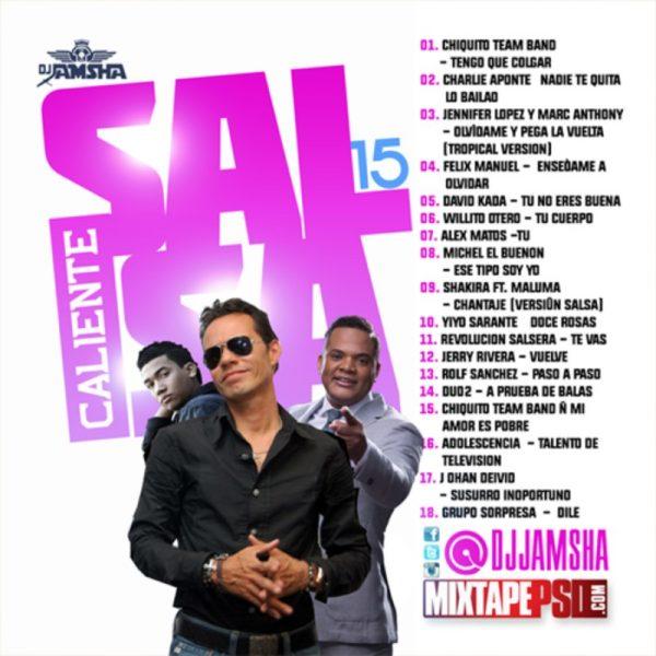 DJ Jamsha - Salsa Caliente 15