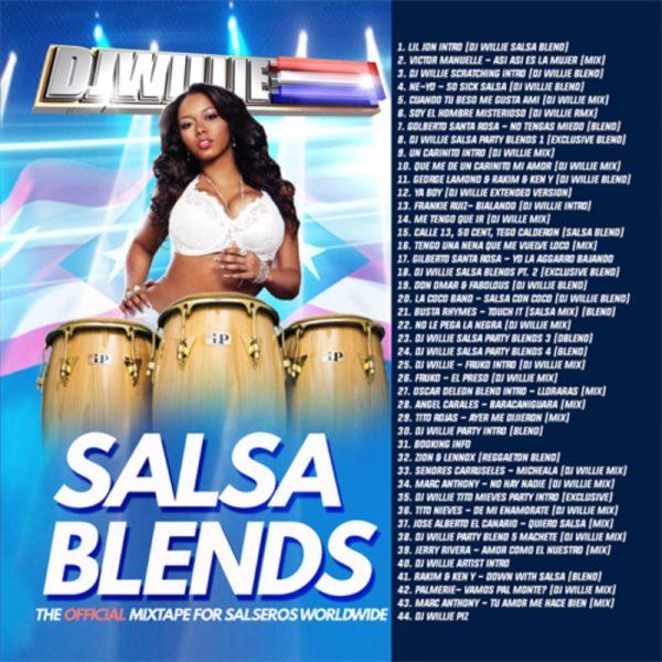 DJ WILLIE - SALSA BLENDS