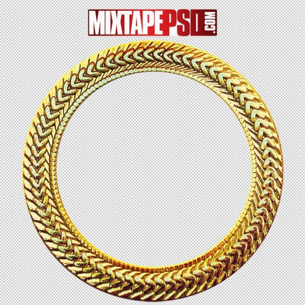 Gold Chain Circle