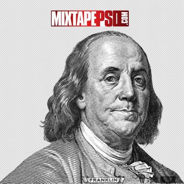 HD Benjamin Franklin Money Symbol