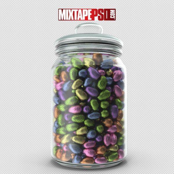 HD Jar Small Chocolate Easter Eggs