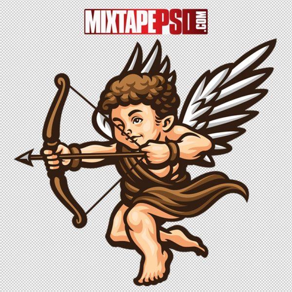 HD Valentine Vector Cupid