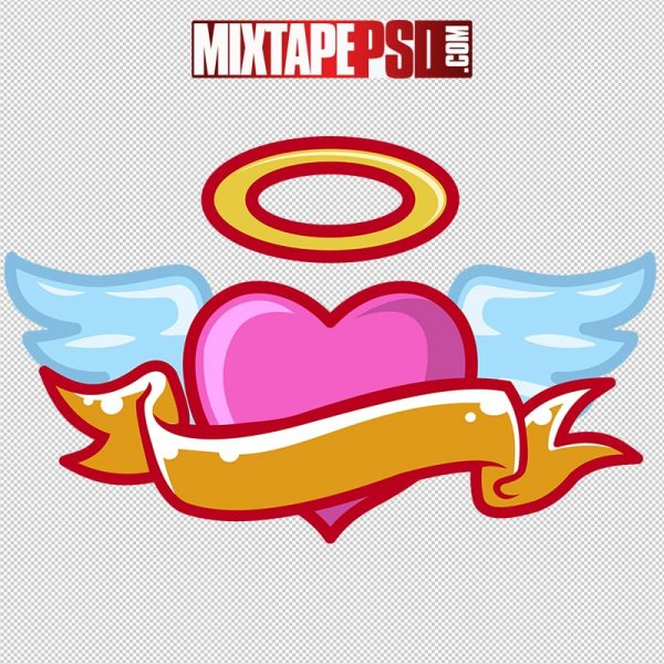 HD Vector Angel Of Love Logo
