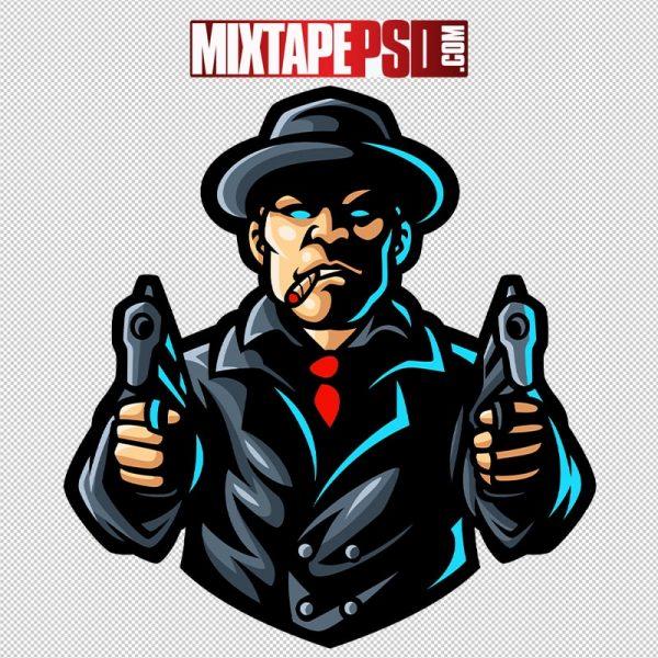 HD Vector Mafia Gangster Logo 2