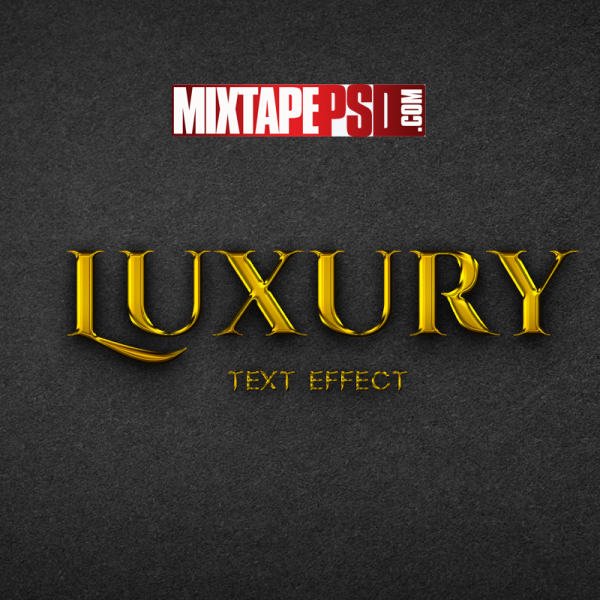 Luxury Gold Text Effect