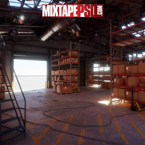Storage Warehouse Background