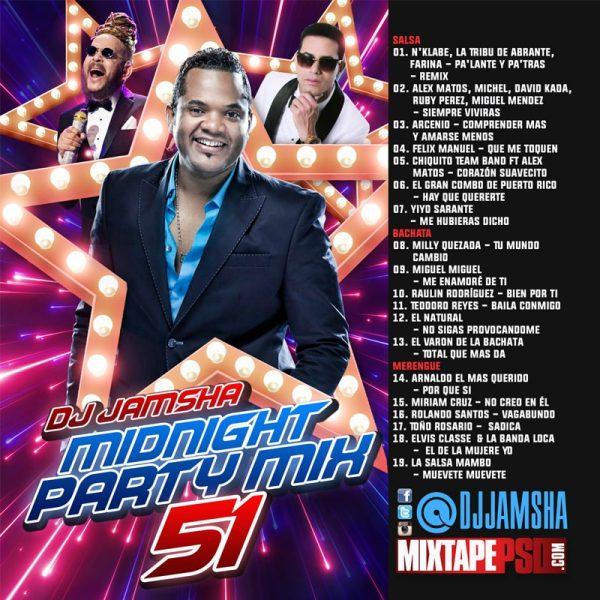 DJ Jamsha - Midnight Party Mix 51