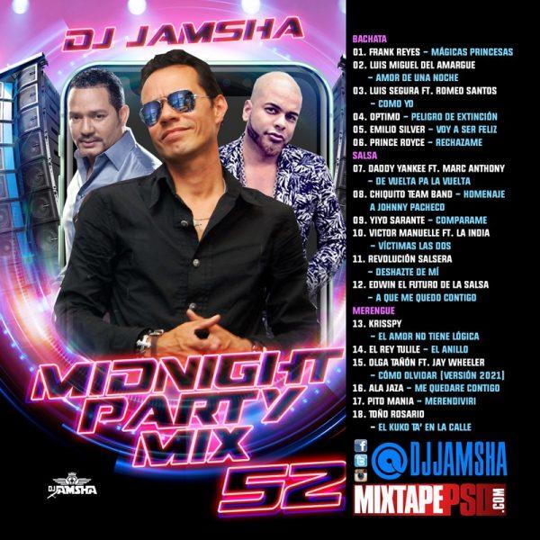 DJ Jamsha - Midnight Party Mix 52