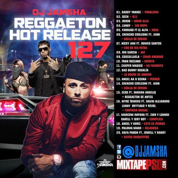 DJ Jamsha - Reggaeton Hot Release 127