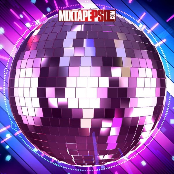 Disco Party Background 3
