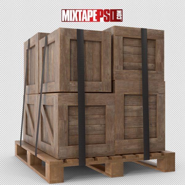 HD Crates on Palate 2